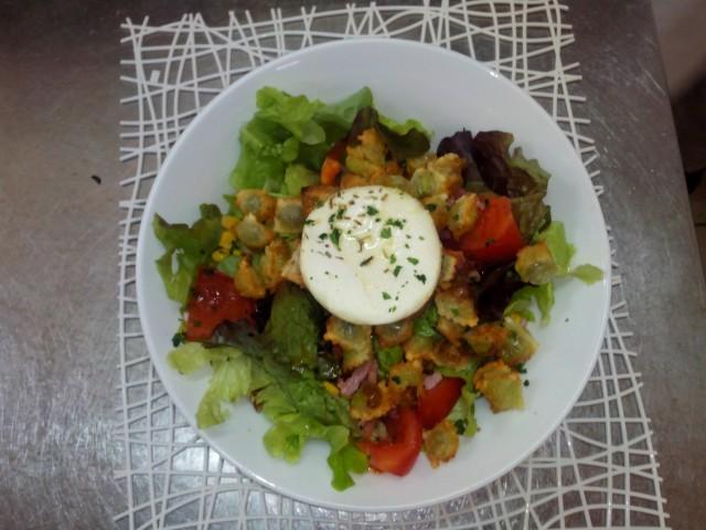 Léchalote salade drômoise